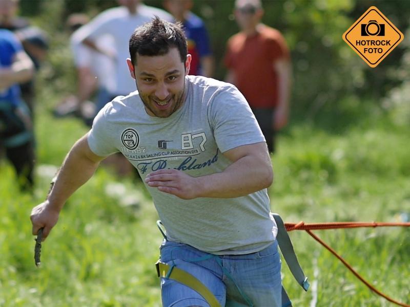 Bungee running