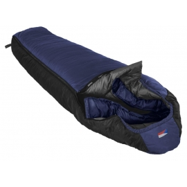 Spacák Prima Lhotse 220, modrý, levý zip