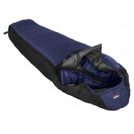 Spacák Prima Lhotse 200, modrý, pravý zip