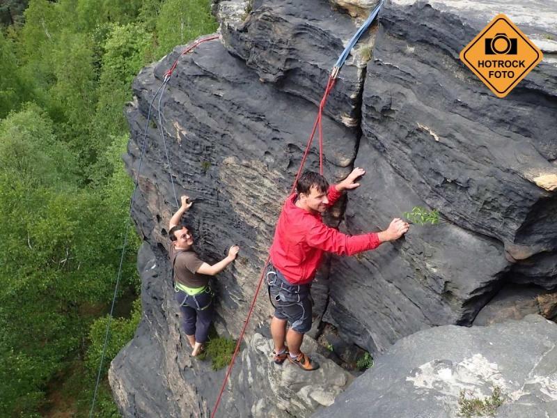 Lezení na skalách