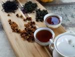 Degustace čajů na vánočním večírku