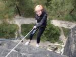 Adrenalinová bomba - Slaňování + Zipline