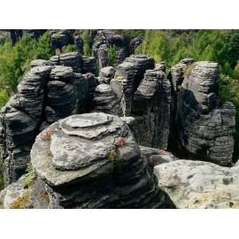Treasure Hunt skalní město Tisá - teambuilding