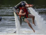 Jetpack - létání nad vodou