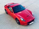 Jízda ve voze Ferrari F149 California