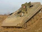 Jízda v obrněném transportéru - BVP-1
