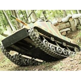 Jízda mini tankem