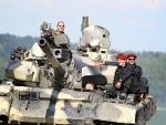 Jízda v bojovém tanku - T55 STANDARD