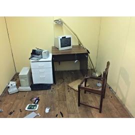 Rozmlať kancelář - destruktoterapie