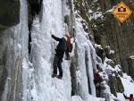 Kurz lezení ledů Ústí nad Labem