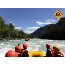 Rafting a via ferraty v Rakousku