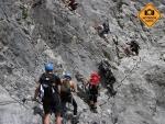 Via ferraty - Výstup na Zugspitze a Alpspitze