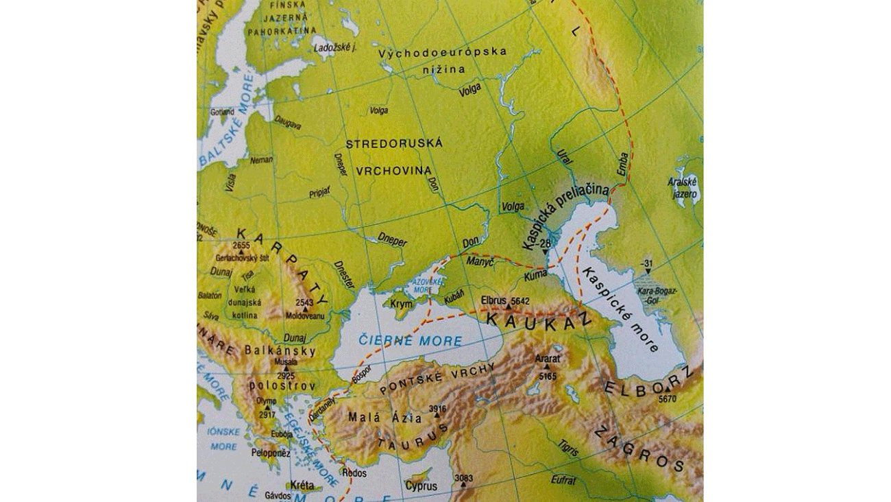 Hranice Mezi Evropou A Asii Hotrock Cz