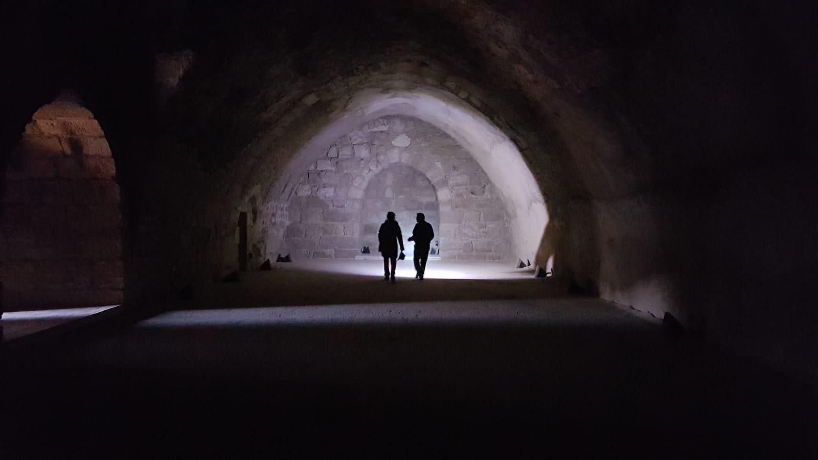 Podzemí hradu Karak