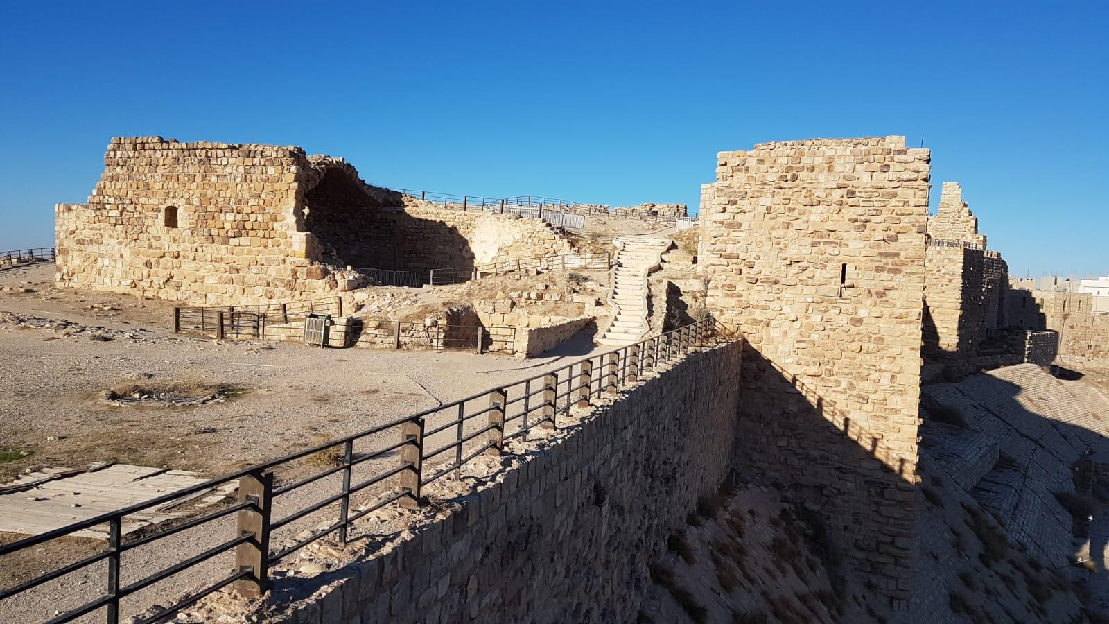 Křižácká pevnost Karak