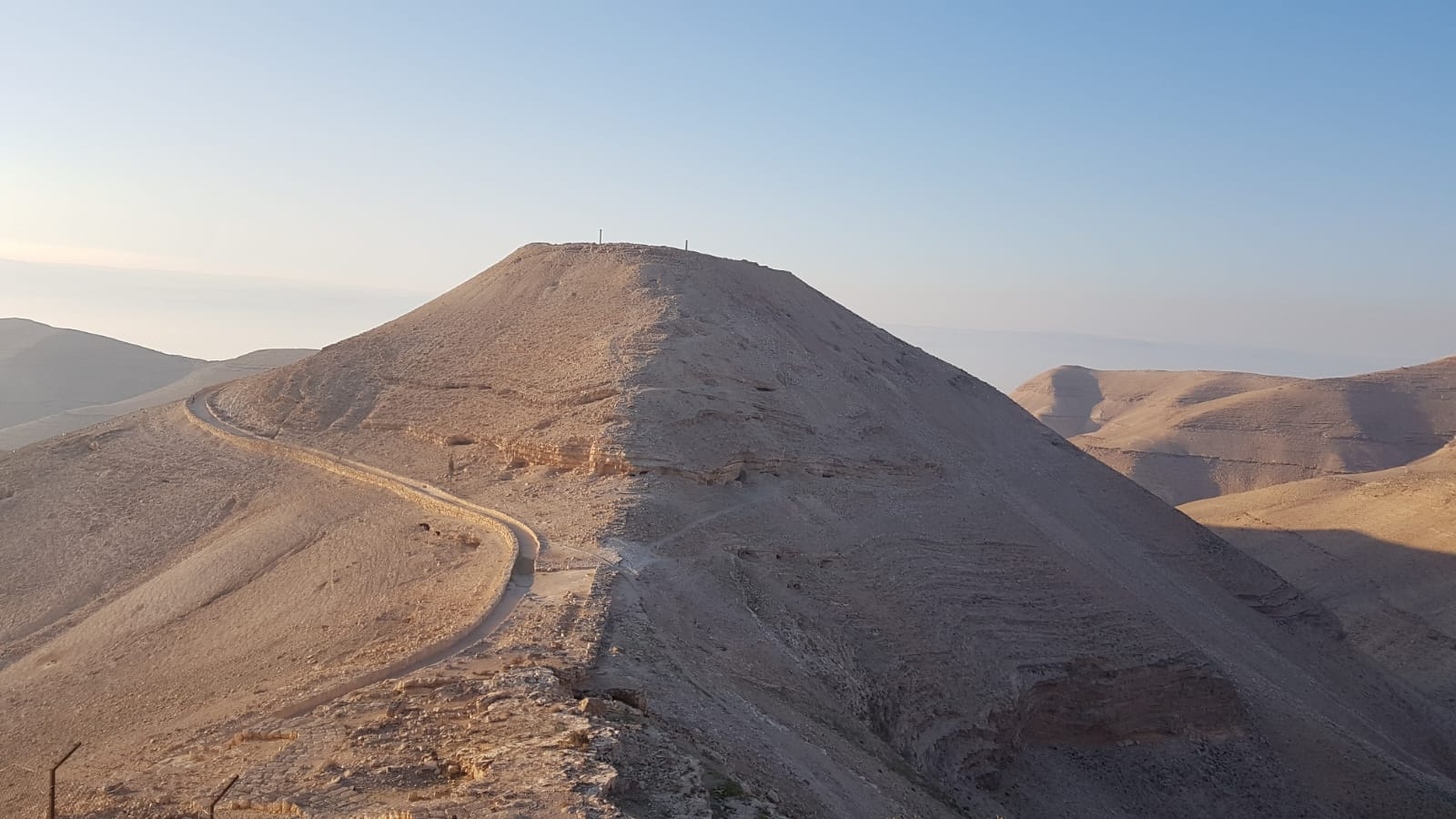 Makáwitu j zřícenina pevnosti Machairús