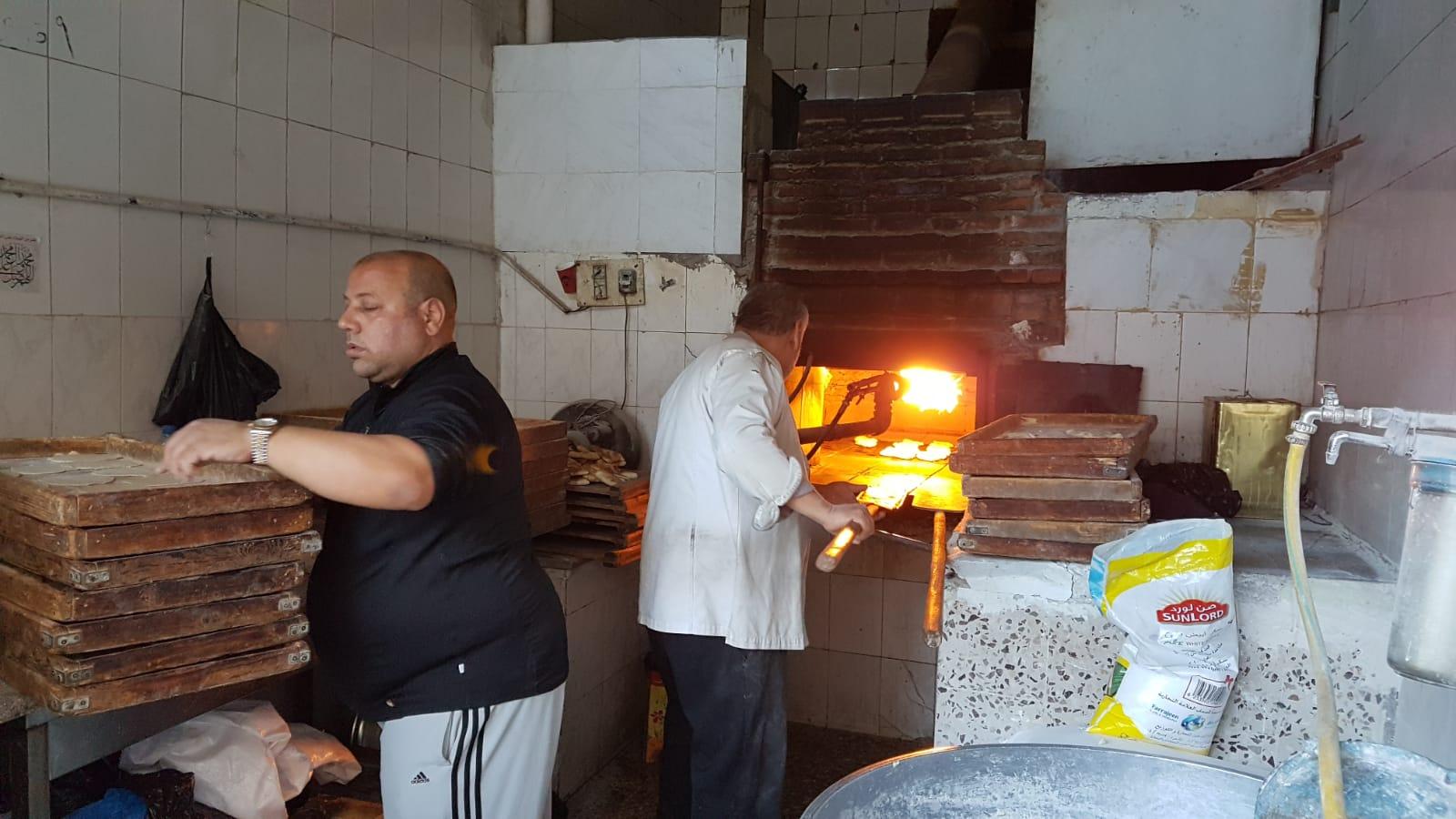 Pekaři ve městě Mádaby