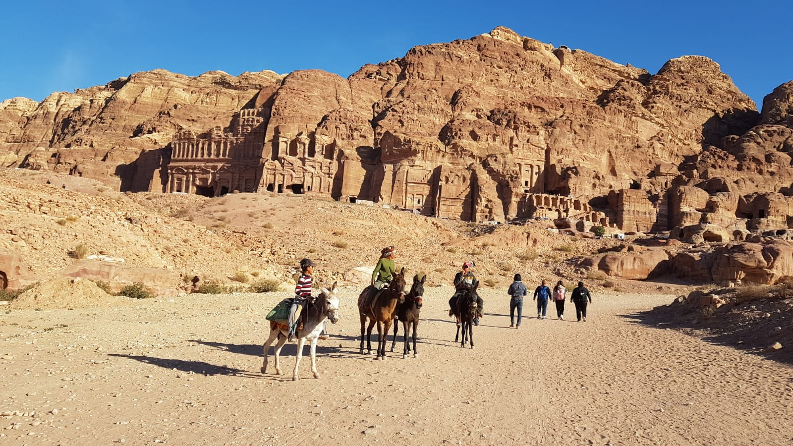 Královské hrobky Petra