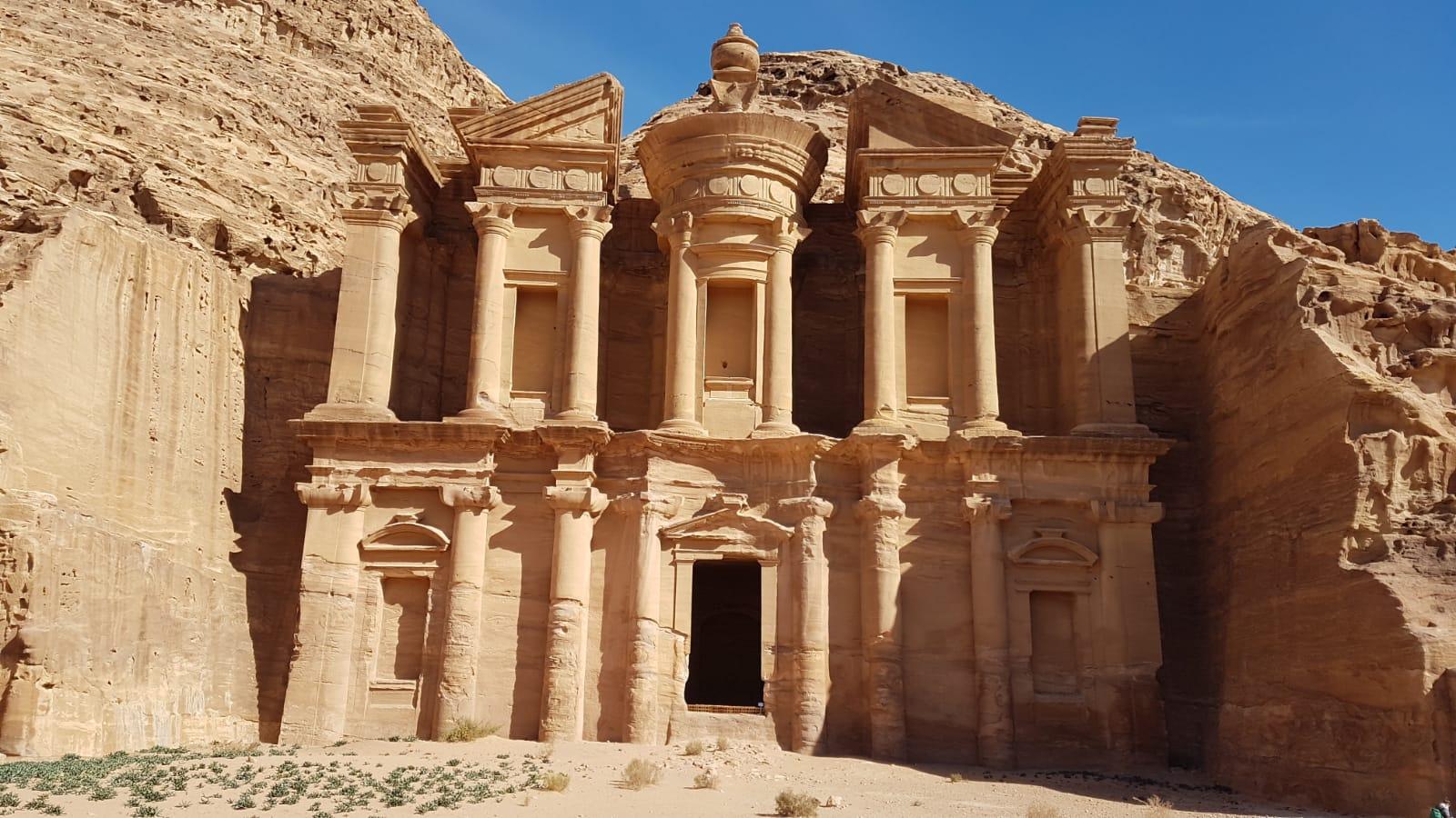 Klášter tedy hrobka Ad-Deir
