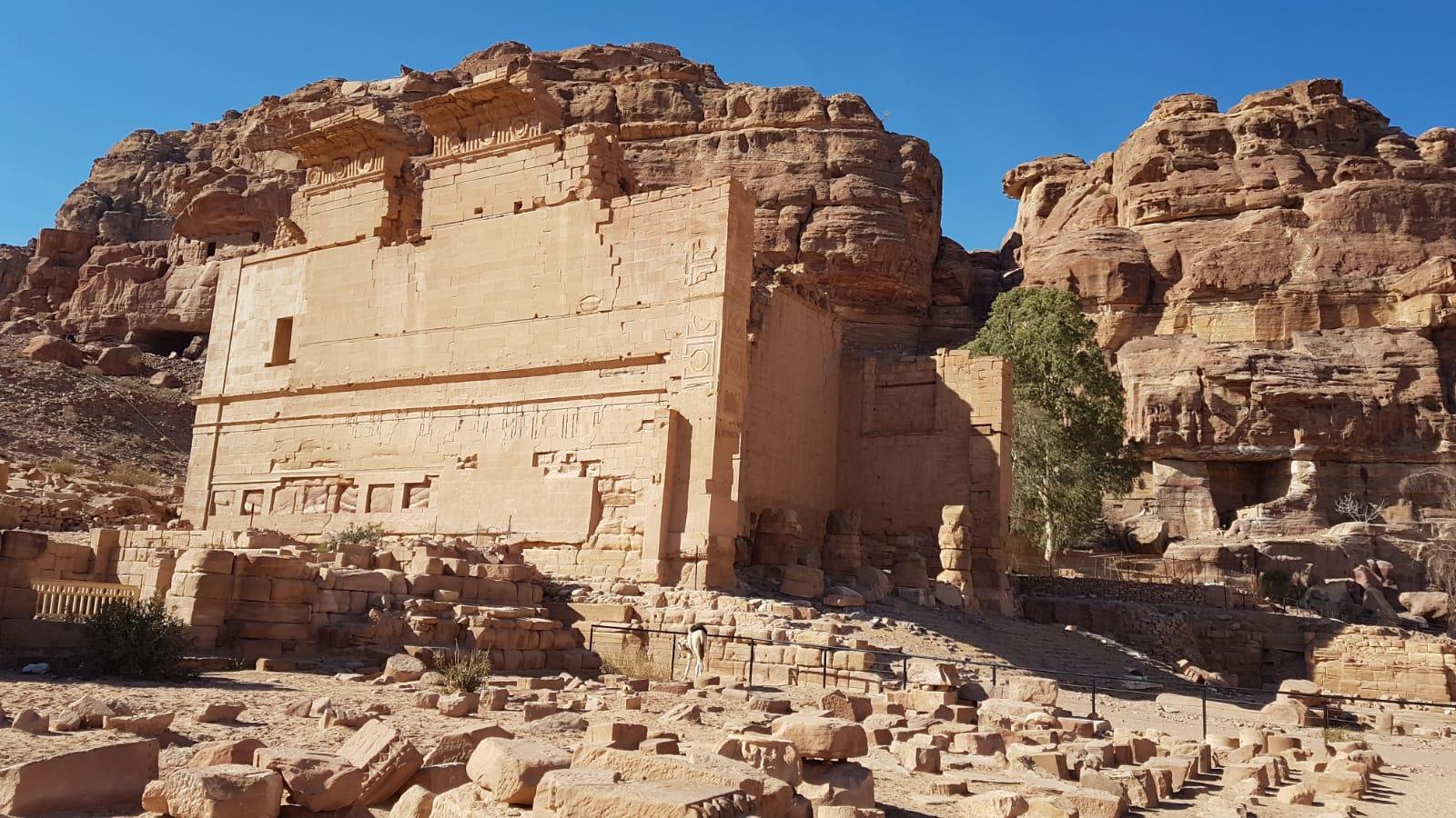 Chrám Qasr al-Bint Petra